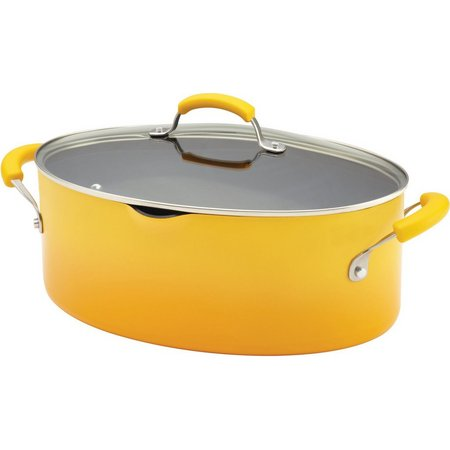 Rachael Ray 8 qt. Covered Oval Pasta Pot