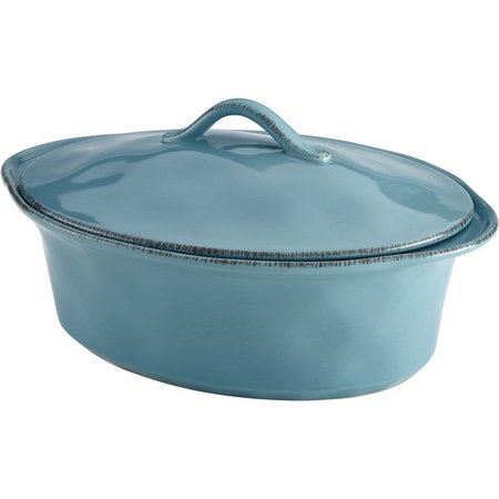 Rachael Ray Cucina 3.5 qt. Oval Covered Casserole