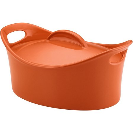 Rachael Ray 4.25 qt. Covered Casserole Baking Dish