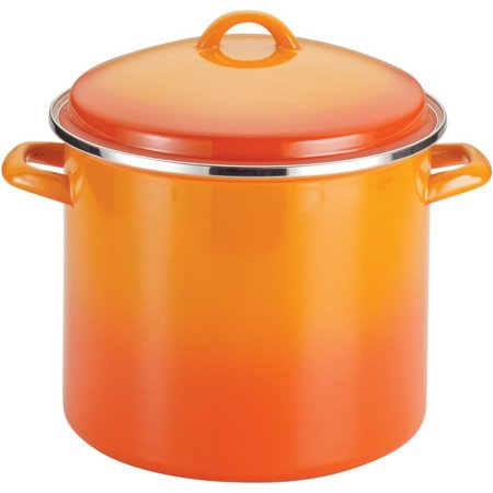 Rachael Ray 12 qt. Enamel Covered Stockpot