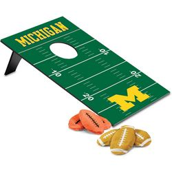 Michigan Wolverines Bean Bag Throw By Picnic Time