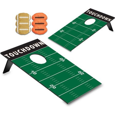 Picnic Time Football Bean Bag Throw Game Set