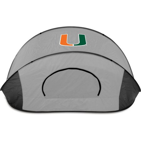 Miami Hurricanes Manta Sun Shelter by Picnic Time