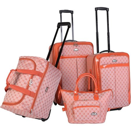 American Flyer 4-pc. Signature Luggage Set
