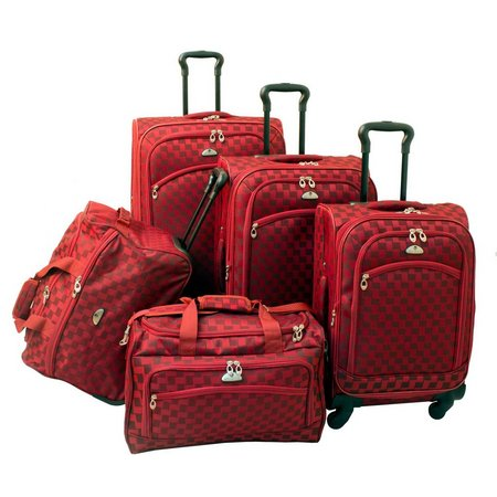American Flyer 5-pc. Madrid Spinner Luggage Set