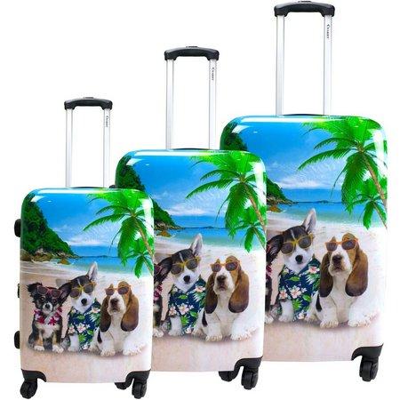 Chariot 3-pc. Kona Hardside Luggage Set