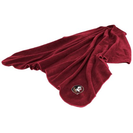 Florida State Huddle Fleece Throw by Logo Brands