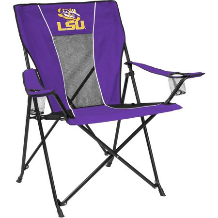 LSU Tigers Game Time Chair by Logo Brands