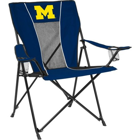 Michigan Wolverines Game Time Chair by Logo Brands