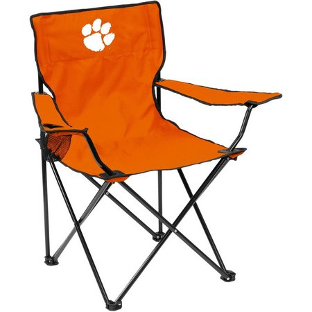 Clemson Tigers Quad Chair by Logo Brands