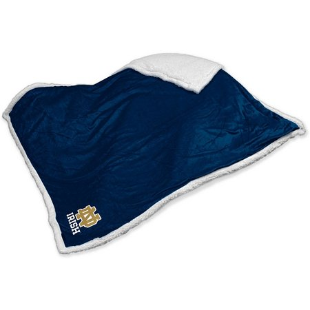 Notre Dame Sherpa Throw by Logo Chair