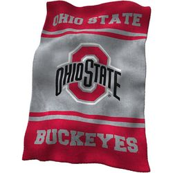 Ohio State UltraSoft Blanket by Logo Chair