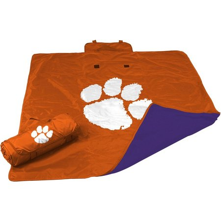 Clemson All Weather Blanket by Logo Chair
