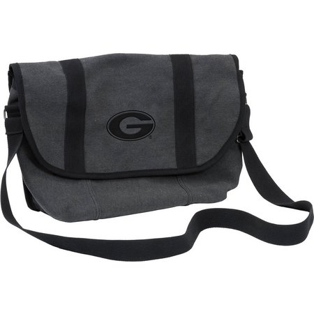 Georgia Varsity Messenger Bag by Logo Chair