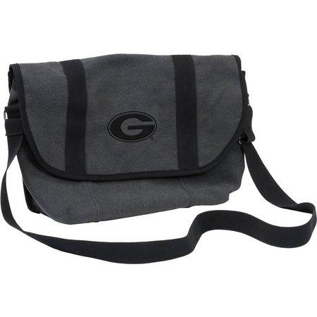 Georgia Varsity Messenger Bag by Logo Chair