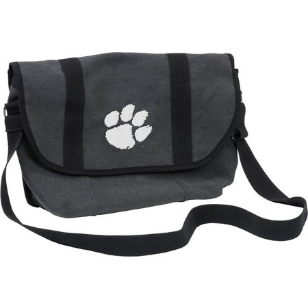 Clemson Varsity Messenger Bag by Logo Chair