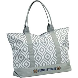 Notre Dame Ikate Tote by Chair Logo