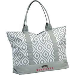 Ohio State Buckeyes Ikat Tote by Logo Chair