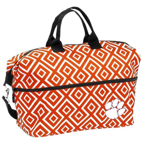 Clemson DD Expandable Tote by Logo Brands