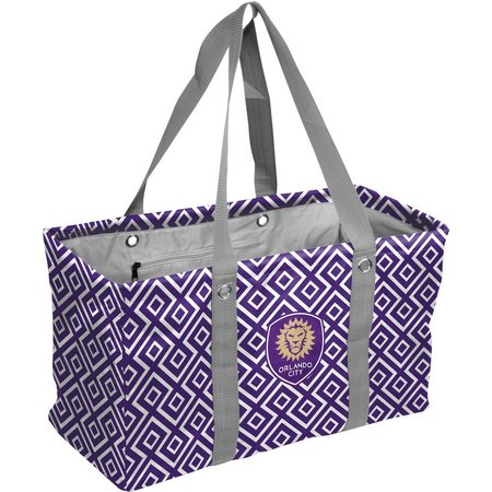 Orlando City Picnic Caddy Tote by Logo Chair