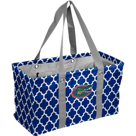 New! Florida Quatrefoil Picnic Caddy Tote by Logo