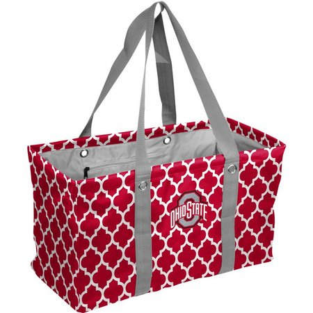 Ohio State Quatrefoil Picnic Tote by Logo Brands