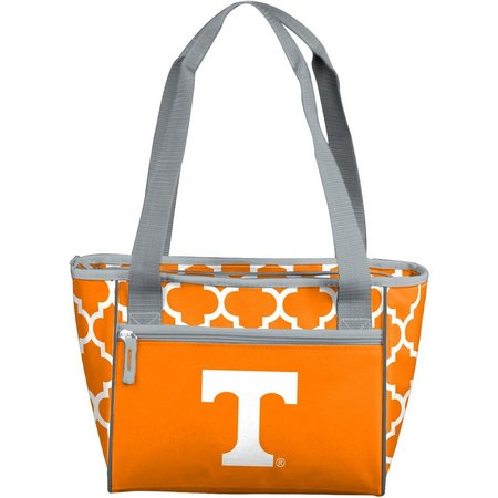 Tennessee Quatrefoil 16 Can Cooler by Logo Chair
