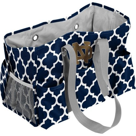 Notre Dame Quatrefoil Jr. Caddy by Logo Chair
