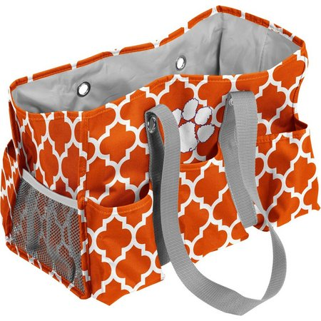 Clemson Quatrefoil Jr. Caddy by Logo Brands