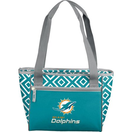 Miami Dolphins 16 Can Cooler Tote by Logo