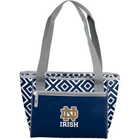Notre Dame Diamond 16 Can Cooler by Logo