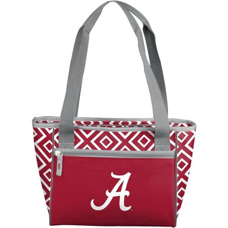 Alabama Diamond 16 Can Cooler Tote by Logo