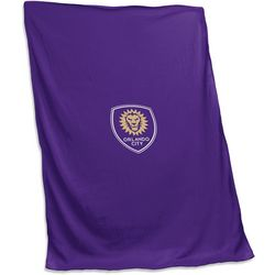 Orlando City Sweatshirt Blanket by Logo Chair
