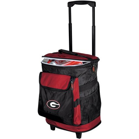 Georgia Bulldogs Rolling Cooler by Logo Brands