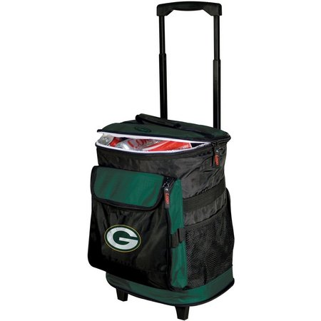 Green Bay Packers Rolling Cooler by Logo Chair