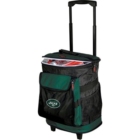 New York Jets Rolling Cooler by Logo Brands