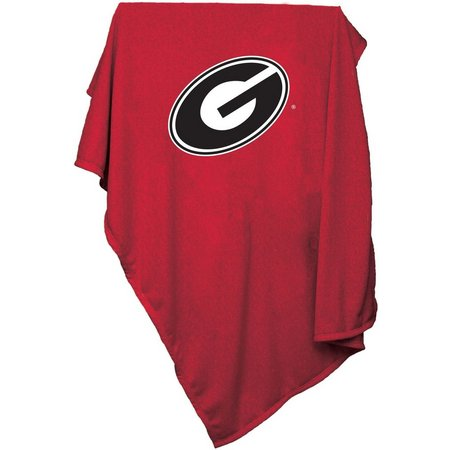 Georgia Bulldogs Sweatshirt Blanket by Logo Chair
