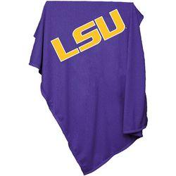 LSU Tigers Sweatshirt Blanket by Logo Chair