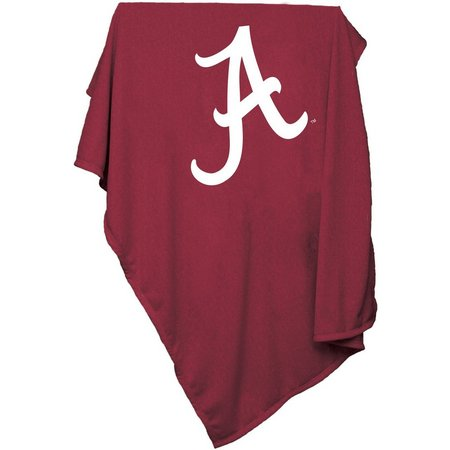 Alabama Sweatshirt Blanket by Logo Brands