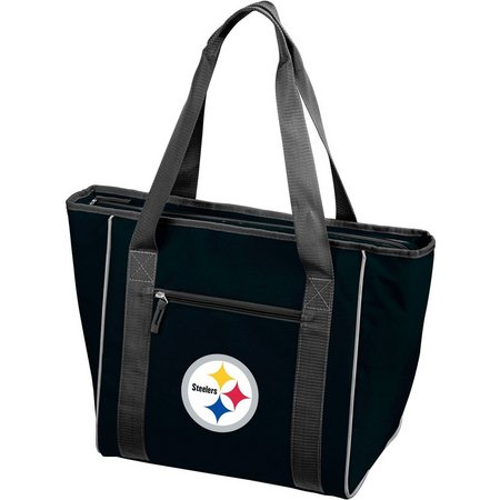 Steelers 30 Can Cooler Tote by Logo Chair