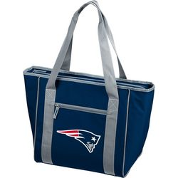 Patriots 30 Can Cooler Tote by Logo Chair