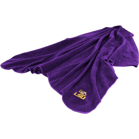 LSU Tigers Huddle Fleece Throw by Logo Chair