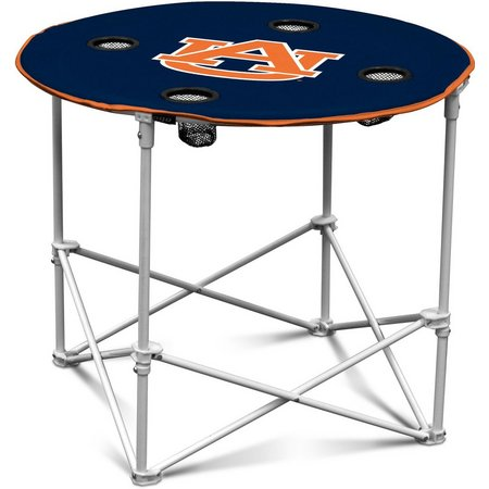 Auburn Portable Round Table by Logo Chair