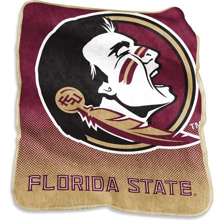 Florida State Raschel Plush Throw by Logo Chair