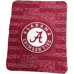 Alabama Sublimated Logo Fleece Throw by Logo Chair