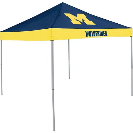 Michigan Wolverines Economy Tent by Logo Chair