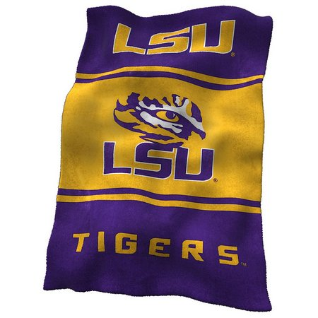 LSU Tigers UltraSoft Blanket by Logo Chair