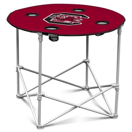 South Carolina Portable Round Table by Logo Chair
