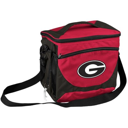 Georgia Bulldogs 24 Can Cooler by Logo Chair