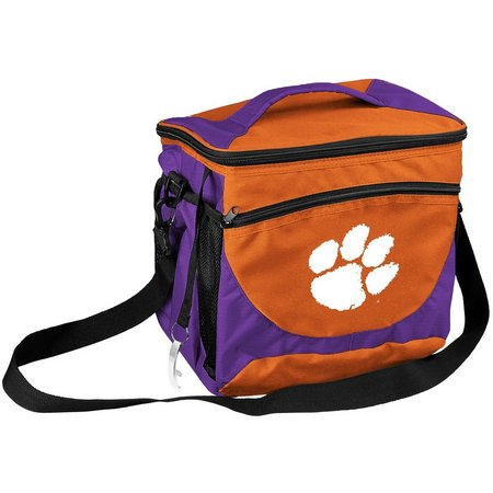 Clemson 24 Can Cooler by Logo Chair
